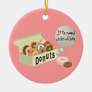 Donuts: Little Round Circles of Love Ornament