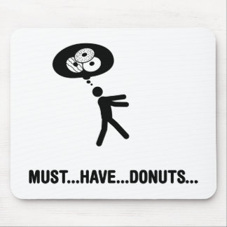 Donuts Lover Mouse Pad