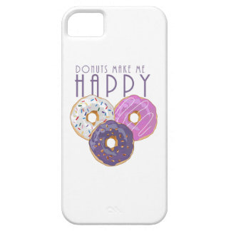 Donuts Make Me Happy iPhone SE/5/5s Case