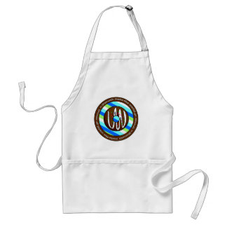 Donuts Make the World go Round - Chocolate Adult Apron