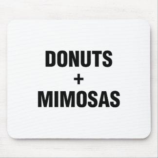 Donuts & Mimosas Mouse Pad