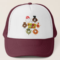 Donuts Party Trucker Hat