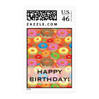 Donuts Postage