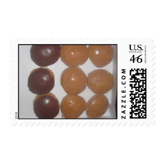 Donuts Postage Stamp