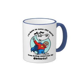 Donuts Rescue Mug