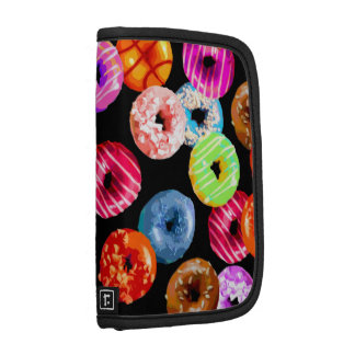 Donuts seamless pattern + your backgr. & ideas organizers