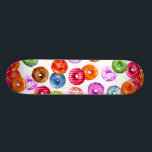 "Donuts seamless pattern   your backgr. &amp; ideas skateboard deck<br><div class=""desc"">Pretty Donuts Pattern colored by EDDA Fr&#246;hlich / EDDArt 