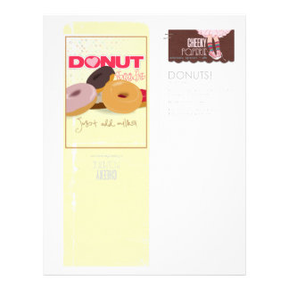 DONUTS Seed Packets Flyer