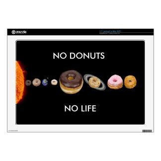 Donuts solar system laptop skins
