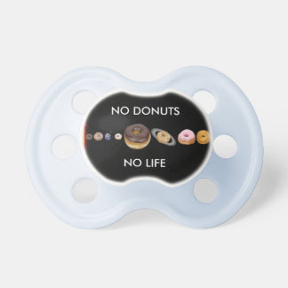 Donuts solar system pacifier