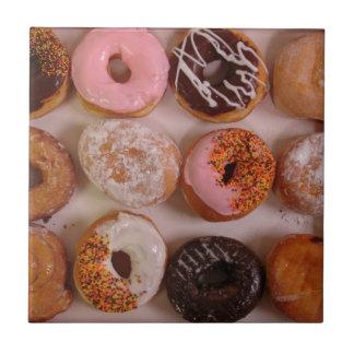 Donuts! Ceramic Tile
