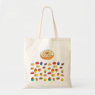 donuts time tote bag