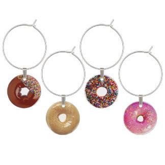 Donuts Wine Glass Charm