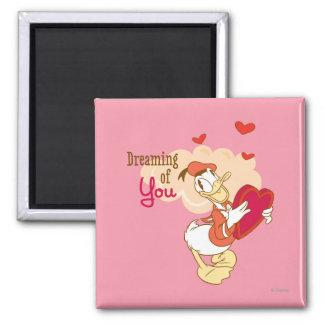 Doo-Abeja mi tarjeta del día de San Valentín Imán Cuadrado