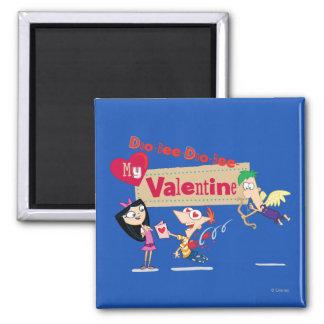 Doo-Bee My Valentine Magnet