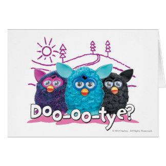 DOO-OO-TYE? 2 GREETING CARD