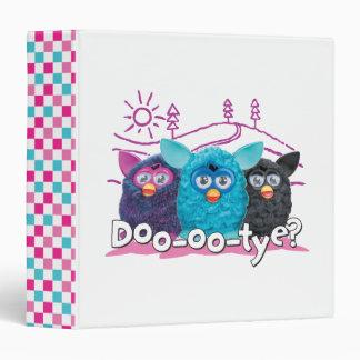 DOO-OO-TYE? - APP 3 RING BINDER