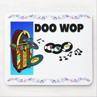 Doo Wop el cojín de ratón Alfombrillas De Ratones
