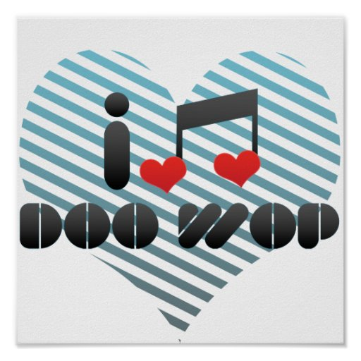 Doo Wop fan Poster