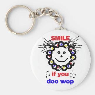 DOO WOP Smile Keychain