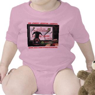 doobie watches TV--CC  Vimx--maricella--pink baby  T-shirt