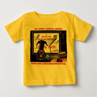 doobieTV-CCVimx--infant snap creeper-yellow--back2 T-shirt