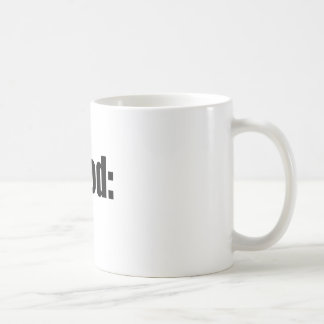 dood poop view weird desire lame unknown abstract coffee mug