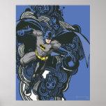 Doodle 2 de los cráneos/de la tinta de Batman Posters