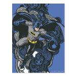Doodle 2 de los cráneos/de la tinta de Batman Postal
