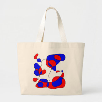 Doodle 2 Fill Large Tote Bag