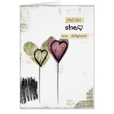 doodle art card card