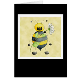 Doodle Bug Bumble Bee Card