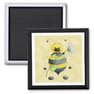 Doodle Bug Bumble Bee Magnet