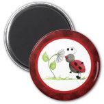 Doodle Bug Ladybug Magnet