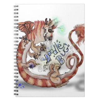 Doodle Bug Monster~notebook