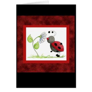 Doodle Bugs Ladybug Card