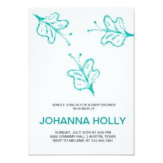 doodle butterflies card