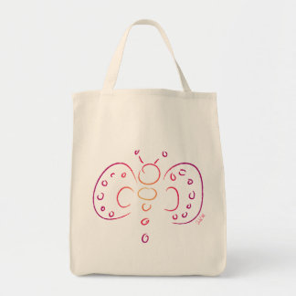 Doodle Butterfly - Tote