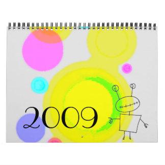 Doodle Calendar 2009