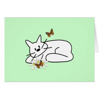 Doodle Cat Card