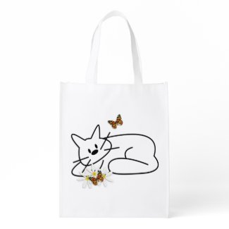 Doodle Cat Bags