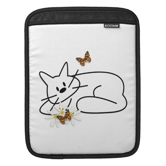 Doodle Cat iPad Sleeve