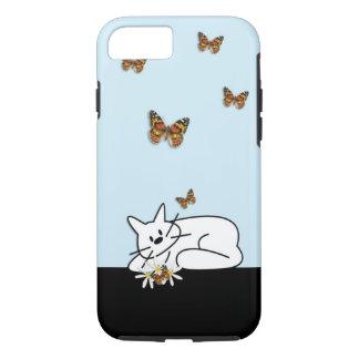 Doodle Cat iPhone 7 Case