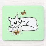 Doodle Cat Mousepad