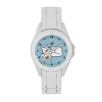 Cat theme watches