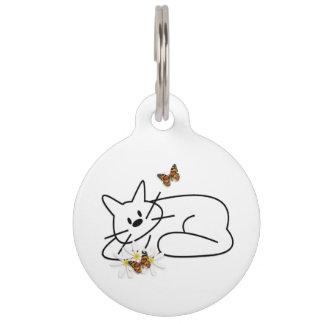 Doodle Cats Pet ID Tag
