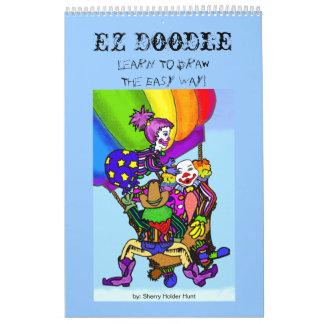 Doodle de EZ - aprenda dibujar el fácil… - Calendarios De Pared
