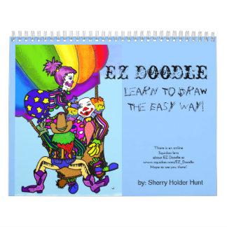 ¡Doodle de EZ - aprenda dibujar la manera fácil! C Calendario