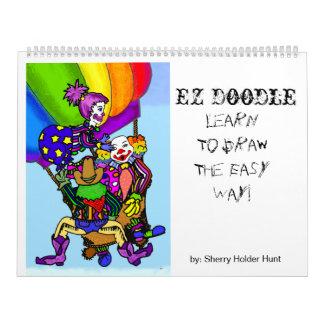 Doodle de EZ - dibuje en mí ..... Calendario
