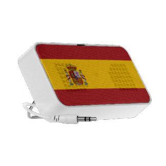 Doodle de la bandera nacional de España iPhone Altavoces